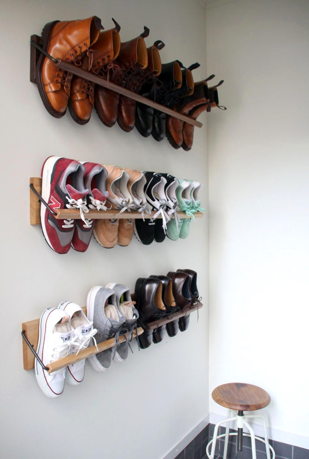 Pin By Patti Krohngold On Jacks House Diy Shoe Rack Diy Shoe