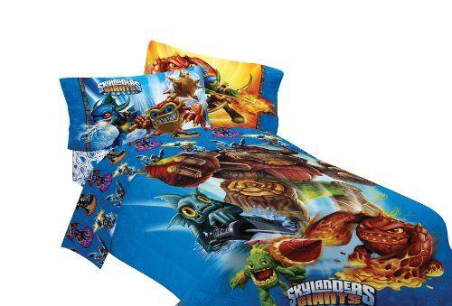 Skylanders Bedding Bedroom Decor Twin Bed Sheets Bed Sheet