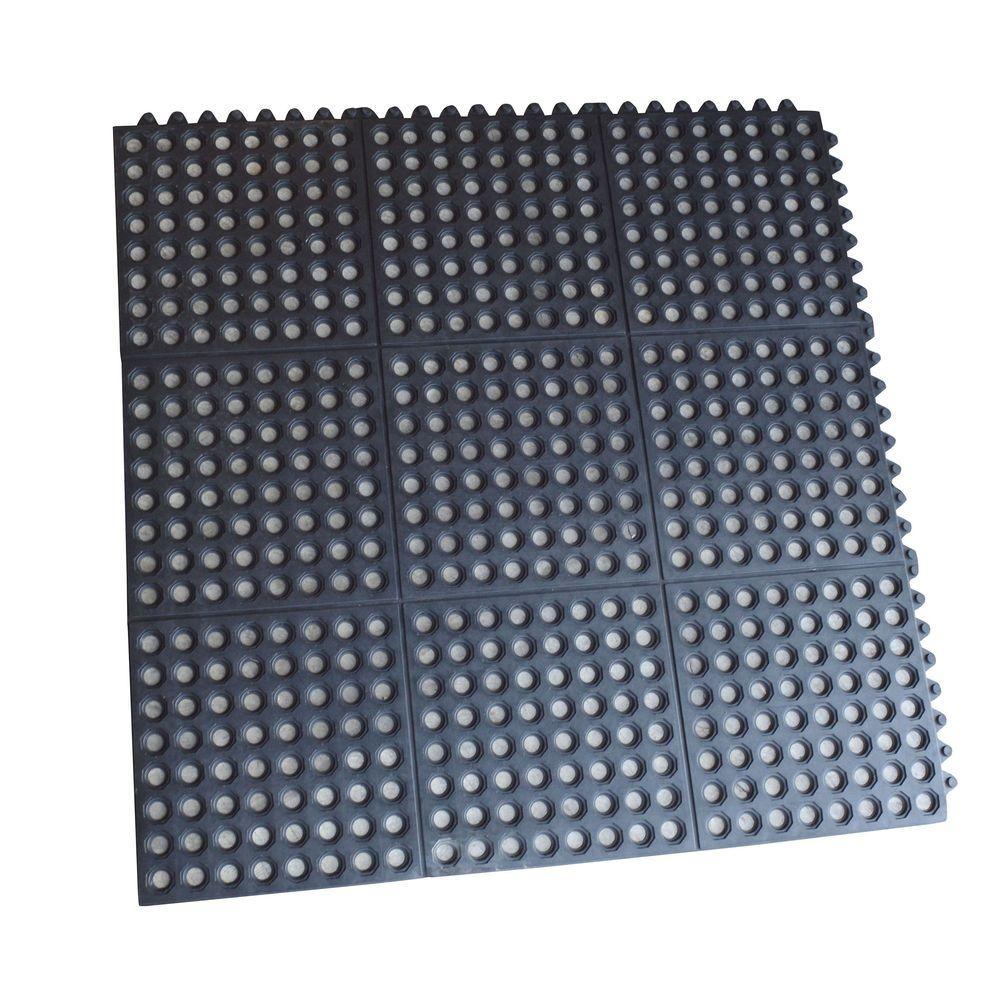 Indoor/Outdoor Durable AntiFatigue 36 in. x 36 in