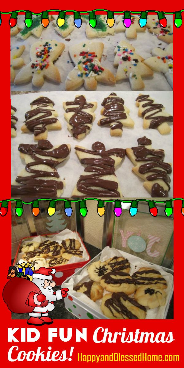 Kid Fun Christmas Cookies   Cookie decorating, Christmas cookies and ...