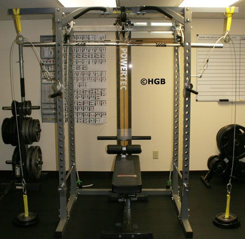 Homemade cable crossover machine home gym cable crossover