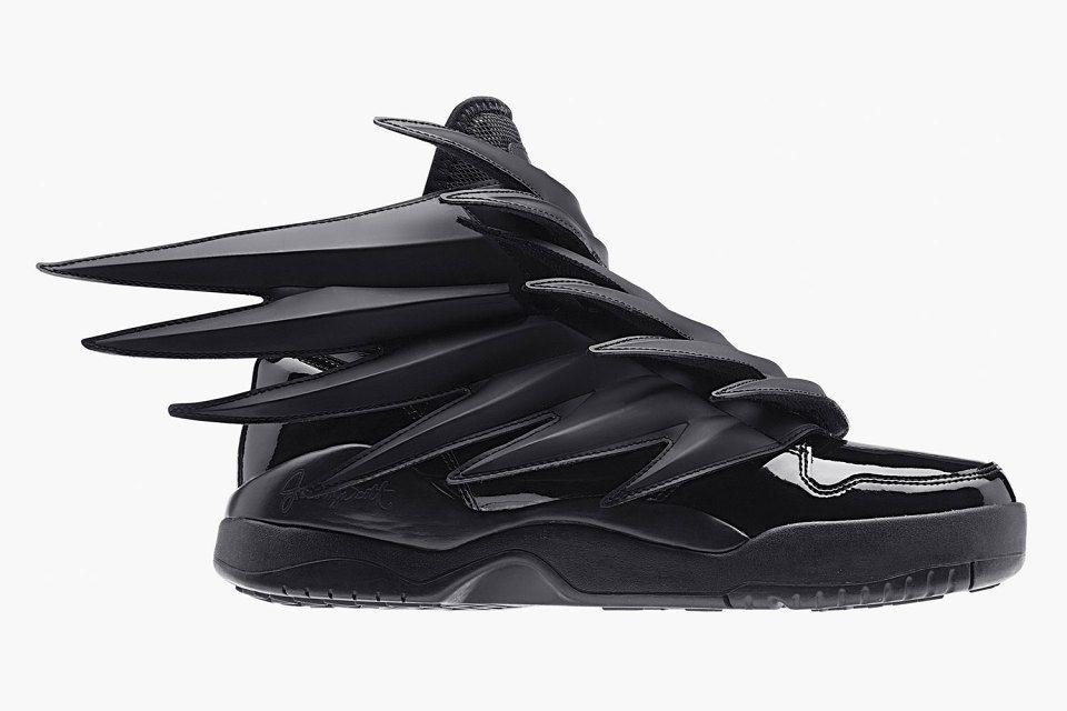 2014 Adidas Originals Jeremy Scott Wings 3.0 Schwarz D66468