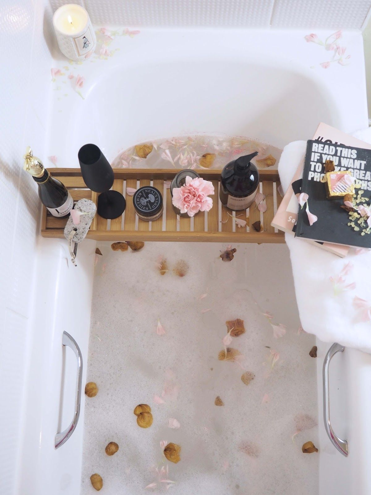 relaxing bath time Relaxing bath, Pampering routine