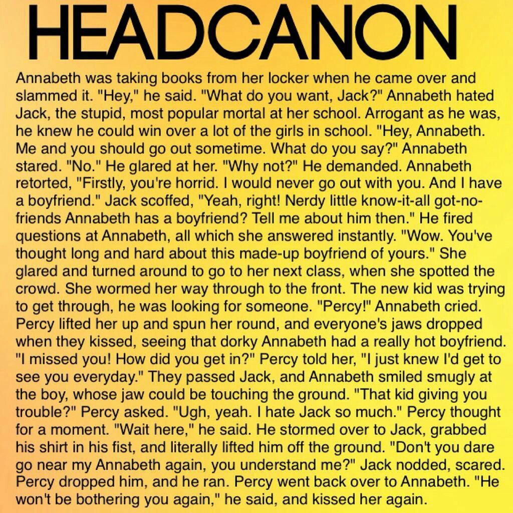 I think Annabeth would stand up for herself she'd probably
