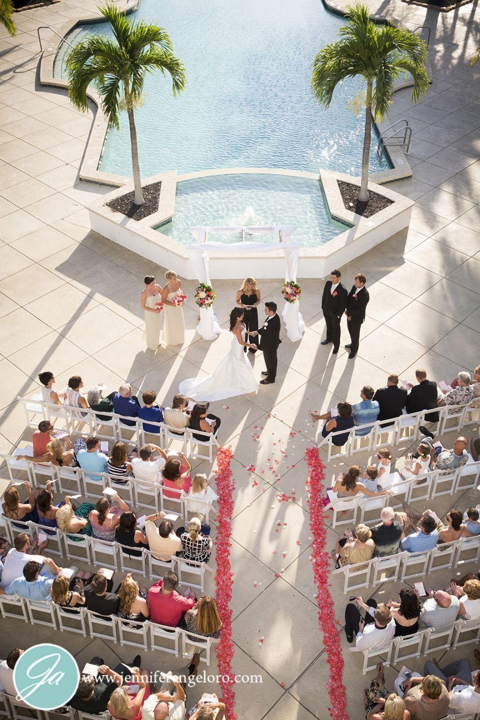 Beautiful Florida Destination Wedding At Sanibel Harbour Marriott Resort And Spa
