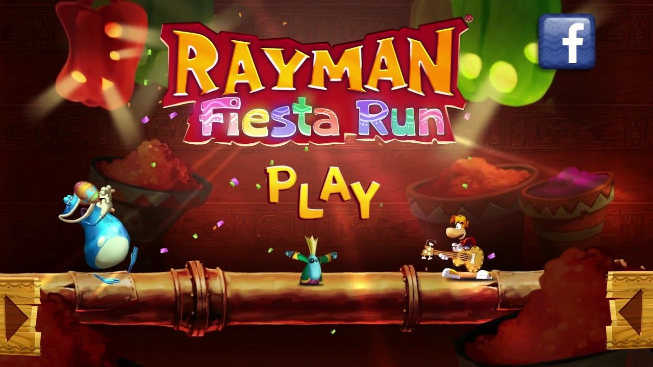 Rayman Fiesta Run Trailer Game For Android Games Game Trailers Fiesta