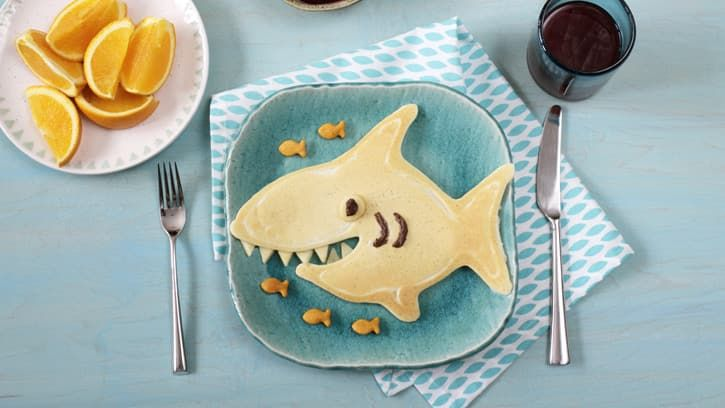 Celebrate Shark Week with a Breakfast to Remember #sharkweekfood