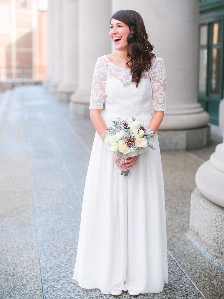 gorgeous lace wedding dresses with sleeves leanne marshall