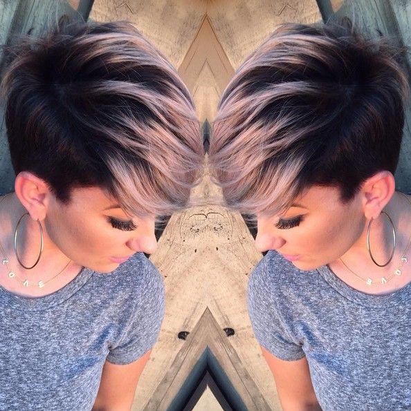 Adorable Pixie Haircut Ideas With Bangs Popular Haircuts Hair Styles Short Hair Styles Pixie Short Hair Styles