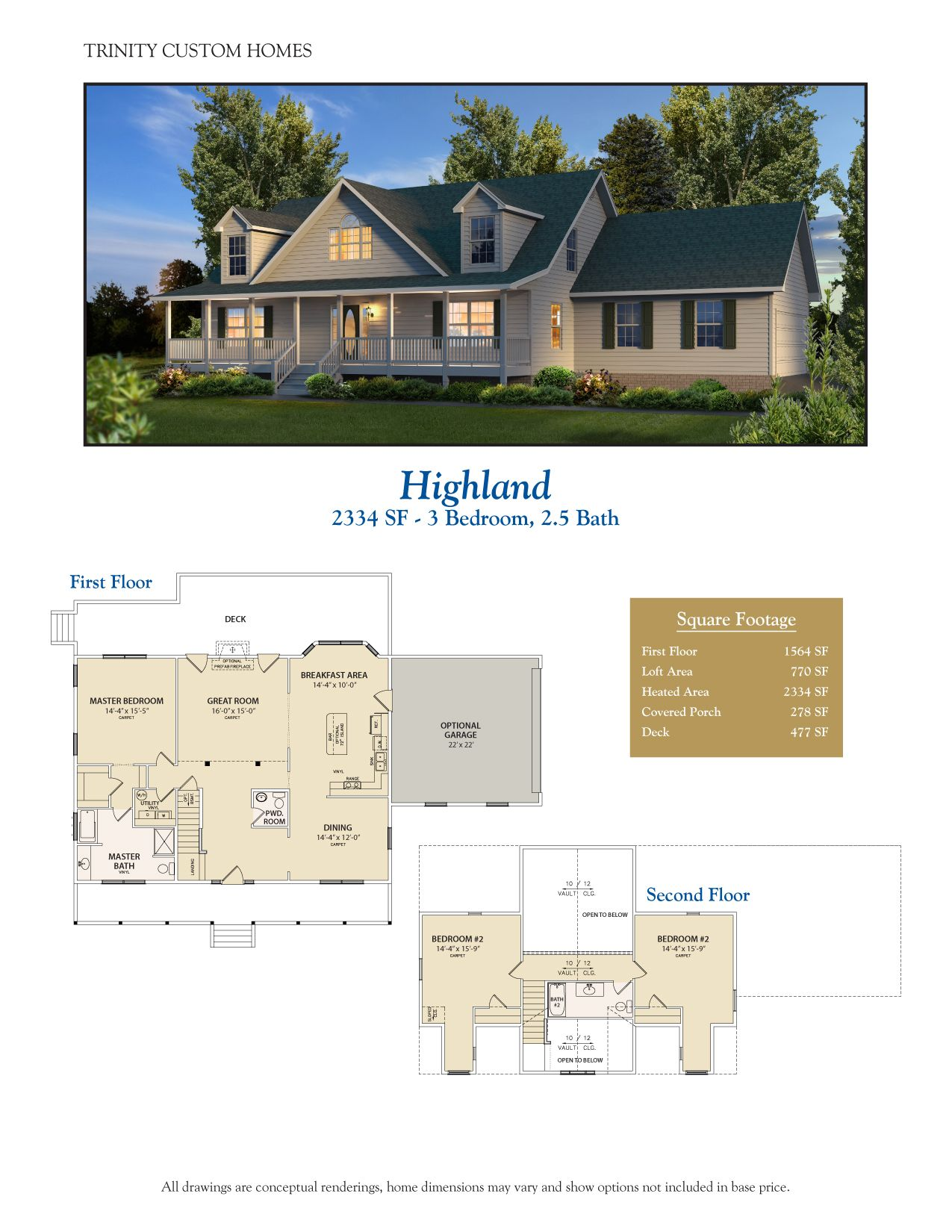 Take a look at all of Trinity Custom Homes Georgia floor plans here ...