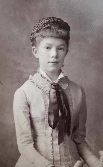 carolathhabsburg: Archduchess Marie Valerie of Austria. 1880s Daughter of Empress Sissi
