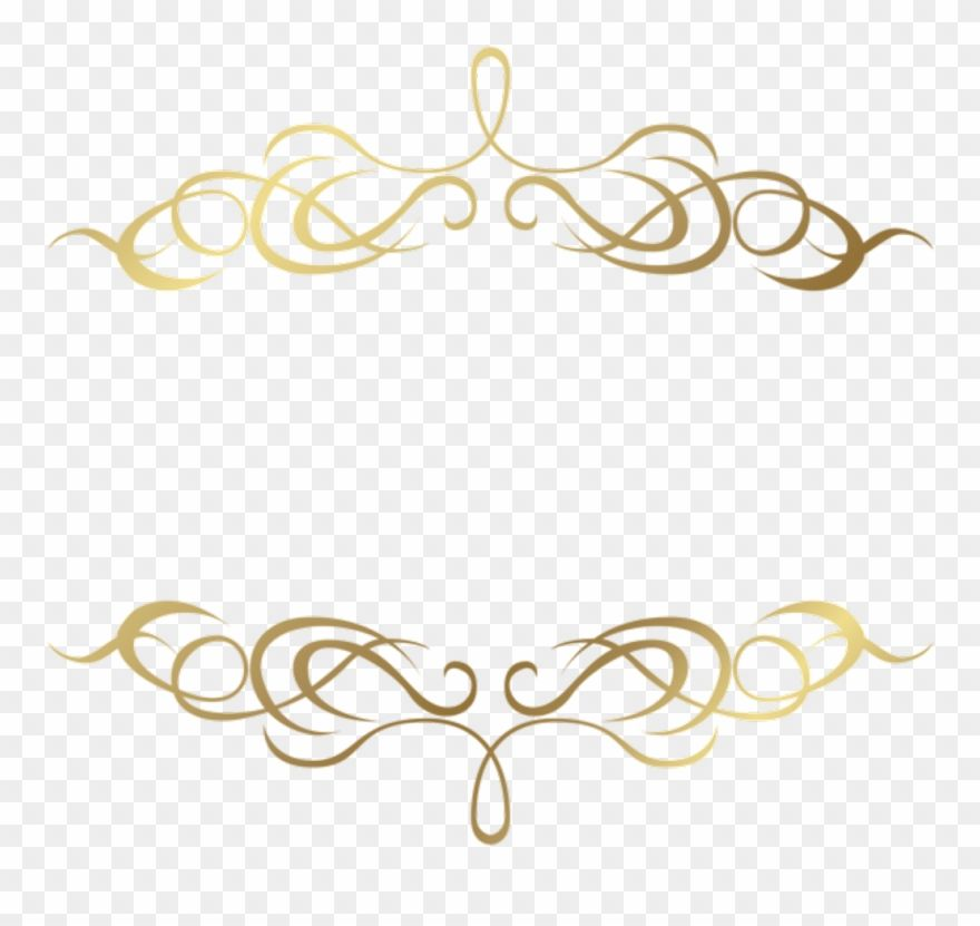 Download Hd Frame Sticker Transparent Gold Line Png Clipart And Use The Free Clipart For Your Creative Project Transparent Stickers Free Clip Art Gold Line
