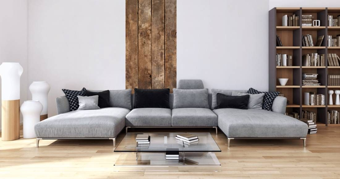 Tapeten im Wohnzimmer; Dekopanel «Holzbretter» DD104680