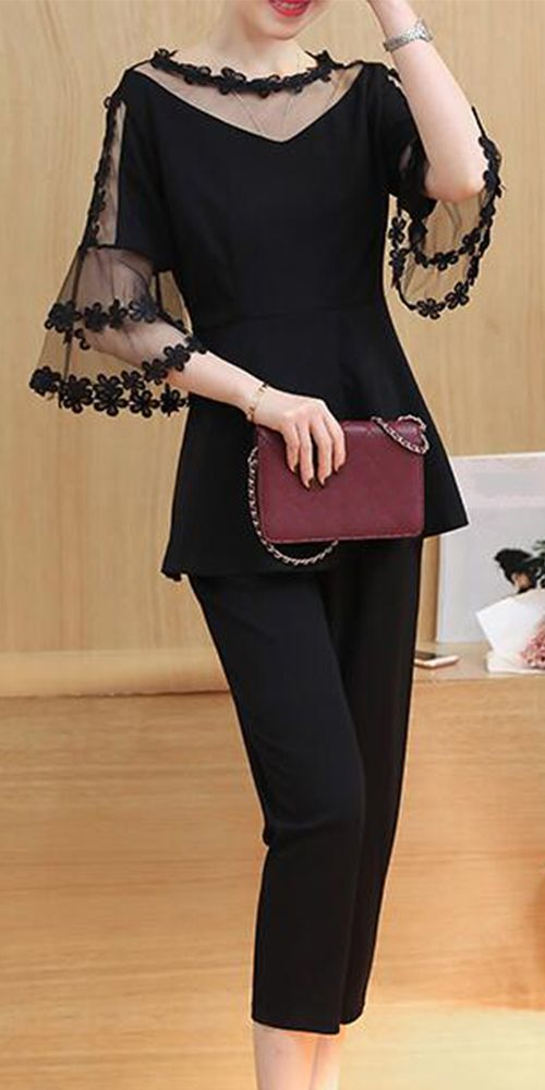 82c29b85c989 Women s Casual Daily Work Party Sexy Cute Street chic Spring Summer Blouse  Pant Suits