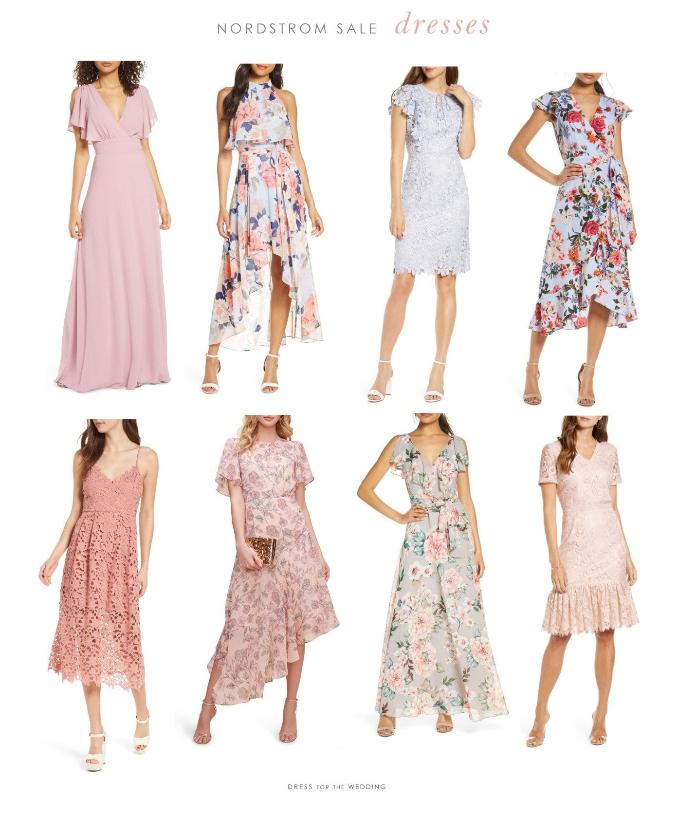Dresses From The Nordstrom Spring Sale 2020 Dress For The Wedding In 2020 Wedding Guest Outfit Dresses Spring Attire