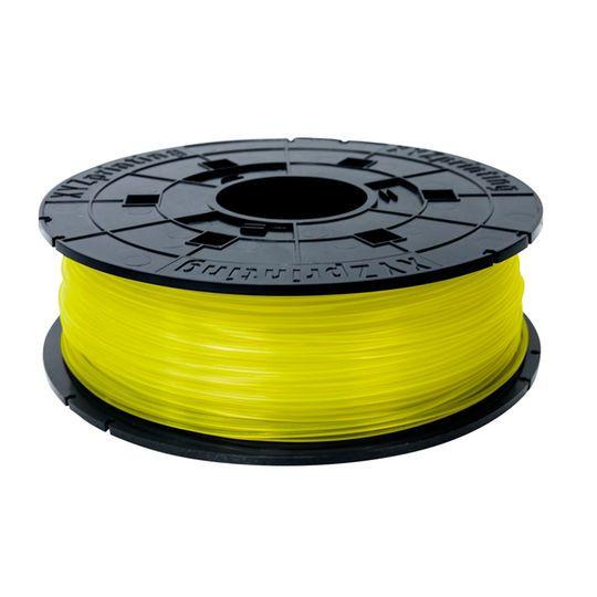 XYZprinting Da Vinci Jr. PLA Filament, Clear Yellow