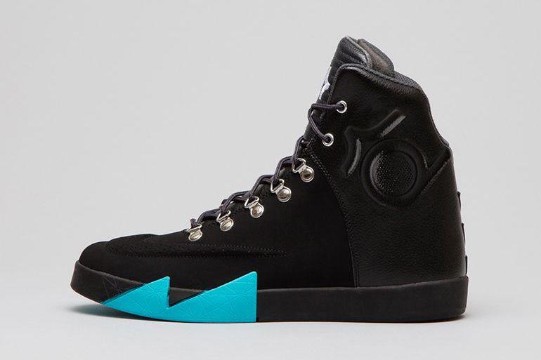 Nike KD VI NSW Lifestyle Leather QS Black/Black-Anthracite-Gamma Blue