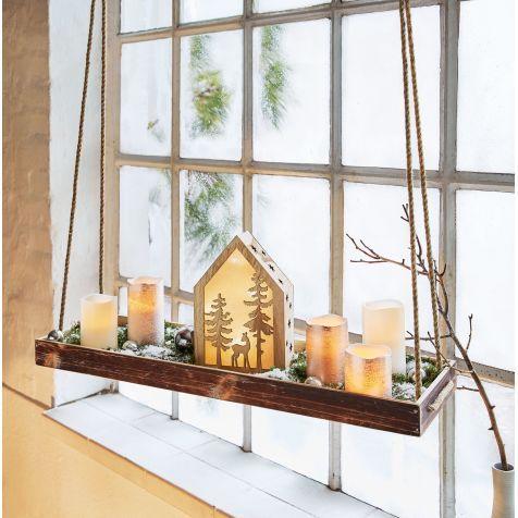 tablett zum h ngen dora fensterbank dekorieren. Black Bedroom Furniture Sets. Home Design Ideas