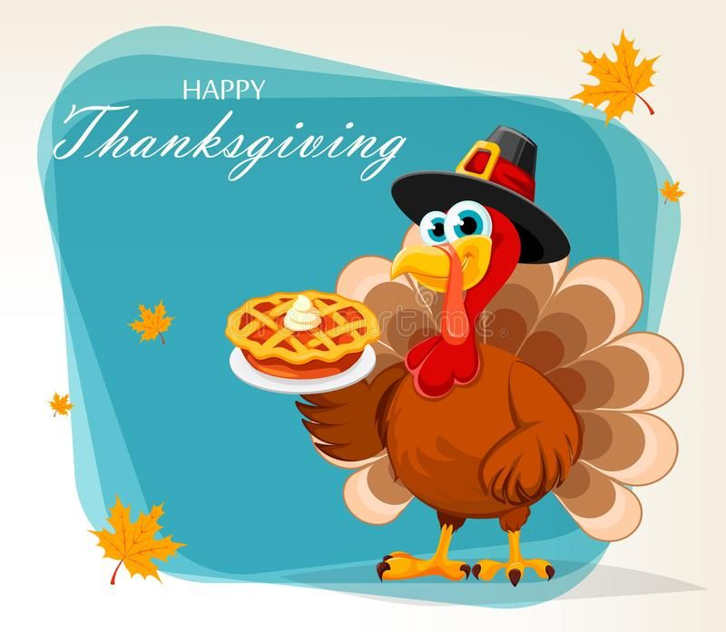 Thanksgiving Turkey Holding Pumpkin Pie Happy Thanksgiving Greeting Card Post Sponsored In 2020 Thanksgiving Greeting Cards Thanksgiving Turkey Happy Thanksgiving