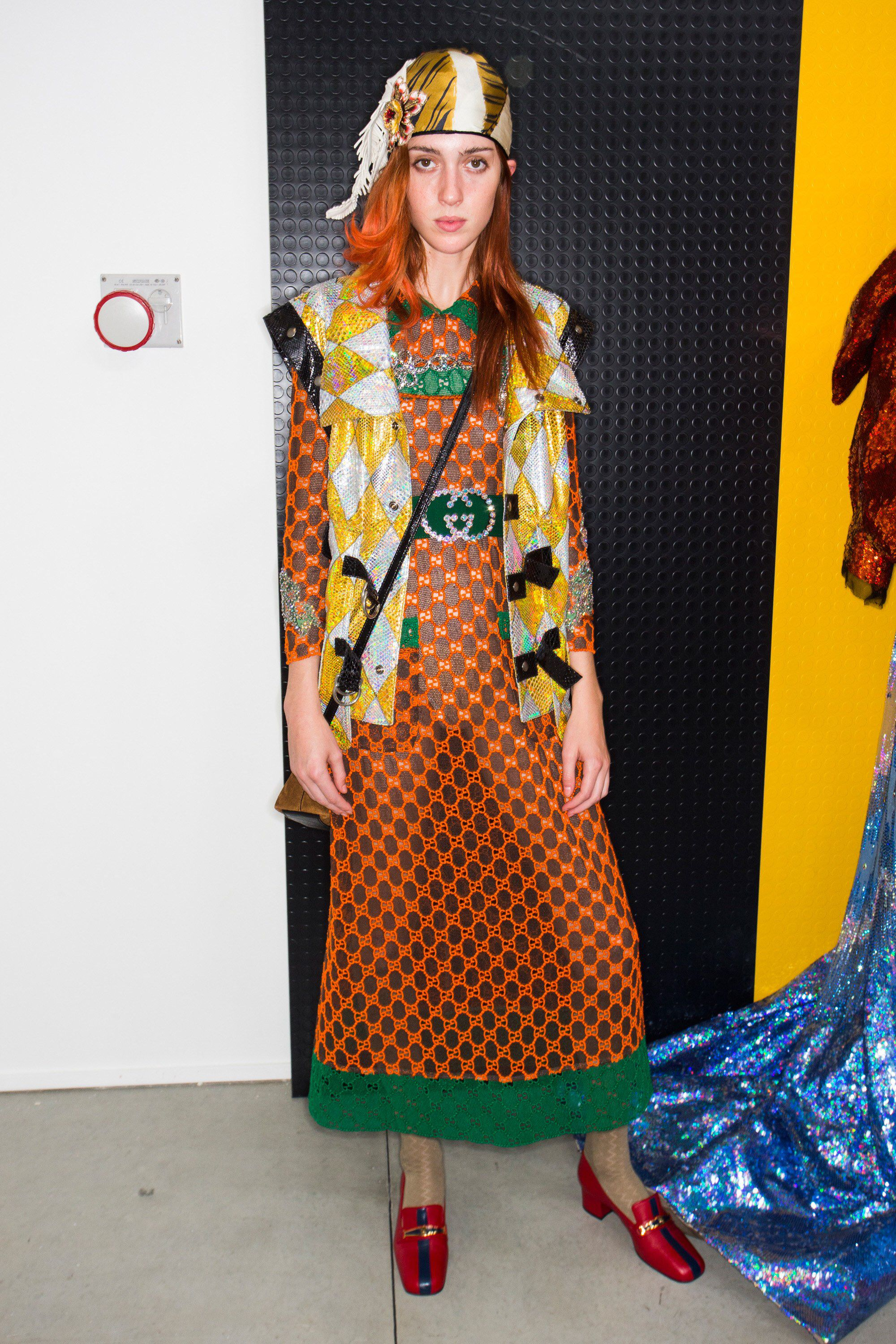 311cec8df86 Gucci Spring 2018 Ready-to-Wear Fashion Show Beauty  See beauty photos for Gucci  Spring 2018 Ready-to-Wear collection. Look 32