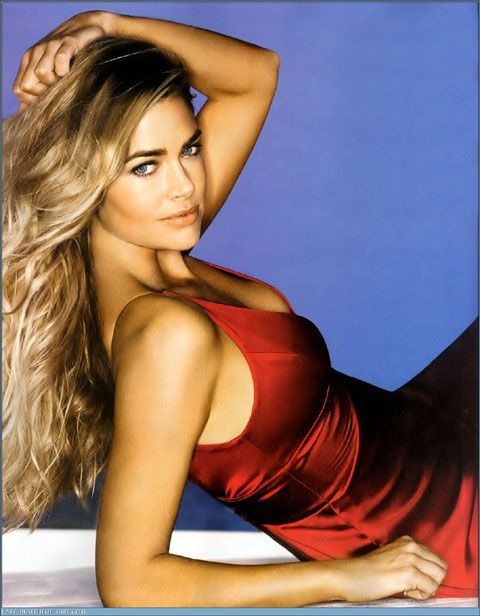 Beautiful, sexy Denise Richards. Once married to actor Charlie Sheen
