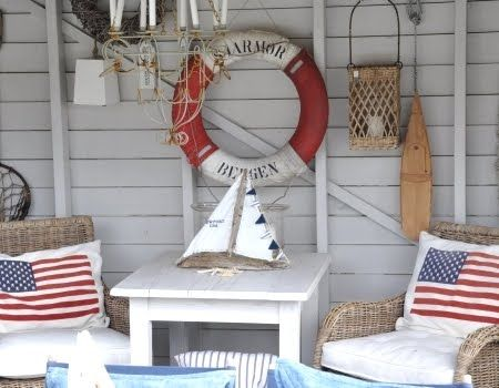 Photo of Wall Decor Ideas with Nautical Life Preserver Rings
