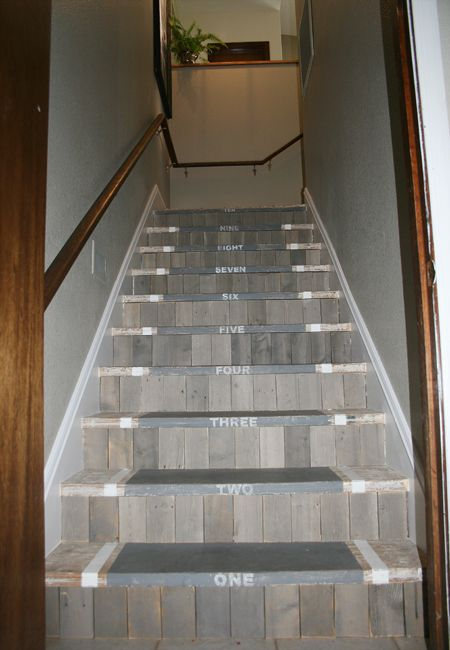 I Think I Want To Redo My Stairs. :)