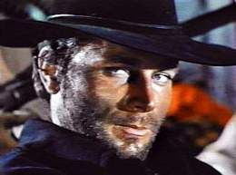 Franco Nero as the title character in Django.