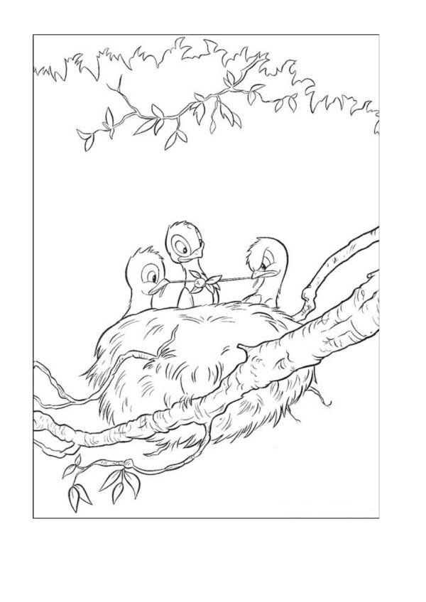 Tegninger til Farvelægning Disney 61