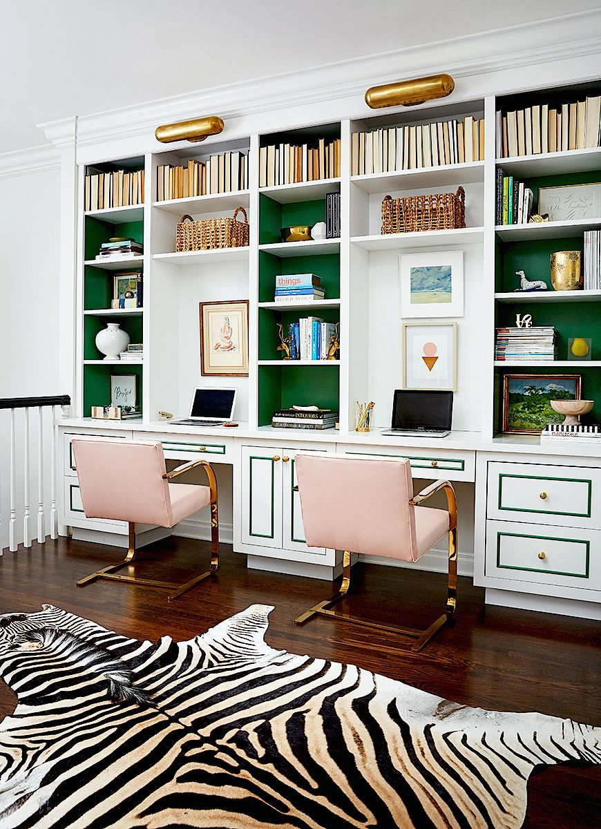Home Office Decor Luxury Interior Design Ideas Pink And Green Zebra Rug For More Inspirations