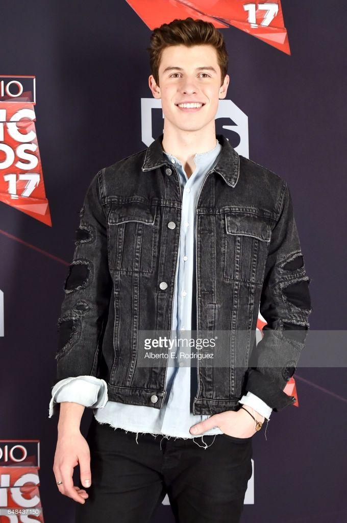 Black Jean Jacket Beautiful Shawn Mendes Magcon Awards
