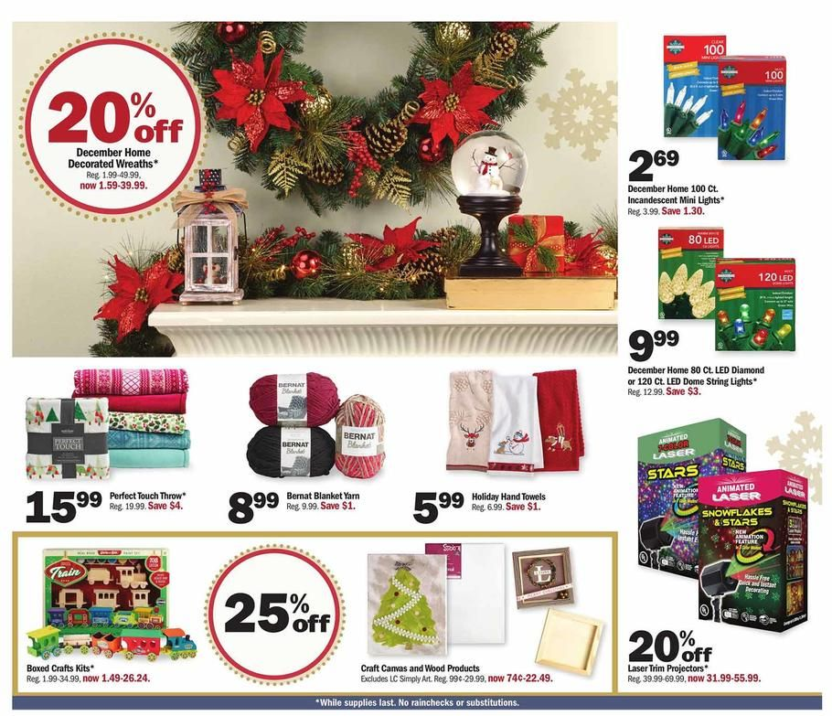 Meijer Christmas Eve Hours.Meijer Holiday Gift Ideas 2018 Ads Scan Deals And Sales See