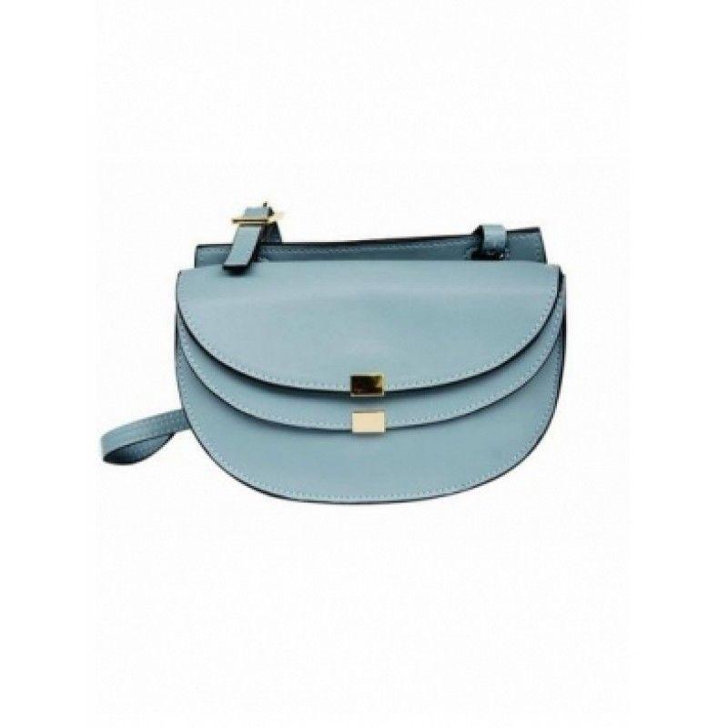 MAREN Metal Lock Shoulder Bag