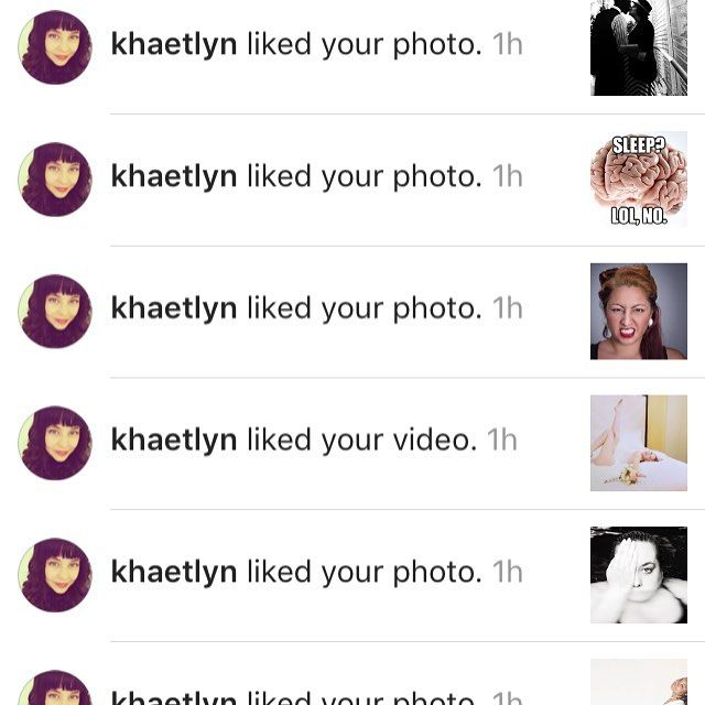 Thanks for the IG love @khaetlyn