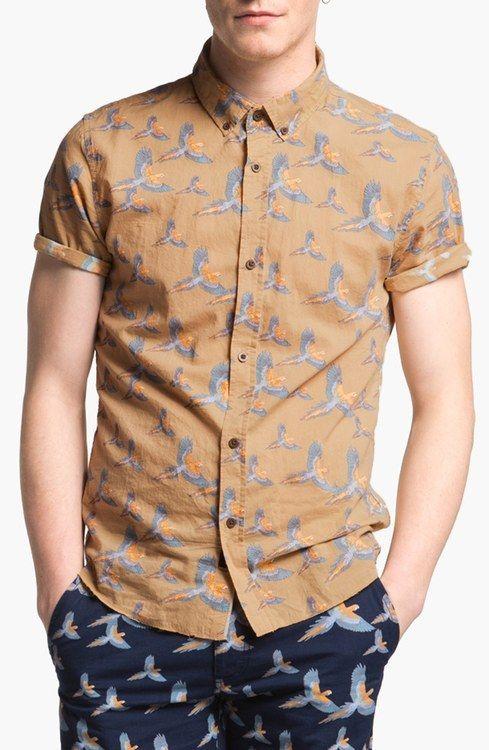 Zanerobe Print Woven Shirt