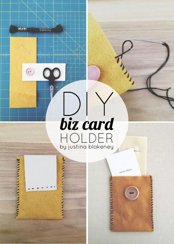 Diy business card holder tutorial girly stuff pinterest diy business card holder tutorial reheart Image collections