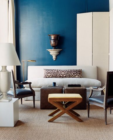10 Things Every Living Room Needs Blue And White Living Room Blue Rooms Grey Interior Design