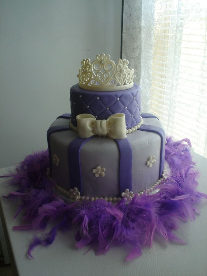 Princess cakeelainas birthday cake Yeah right I only wish I was