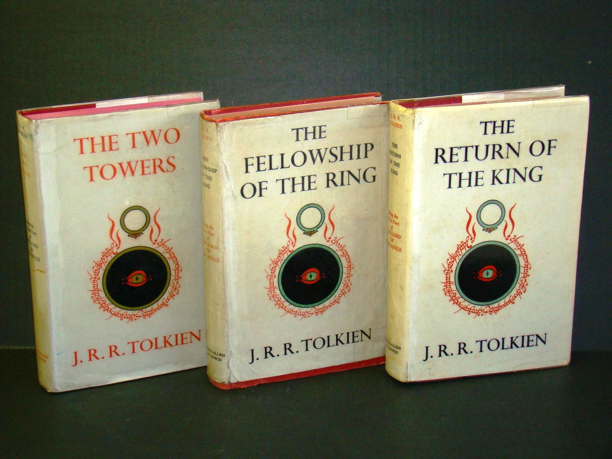 Lord Of The Rings Jrr Tolkien These Are The Exact Copies My Dad