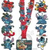 Disney Lanyard Lilo and Stitch Pin Starter Set Authentic FREE SHIPPING