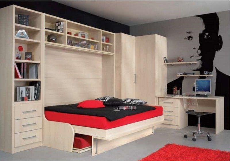 armoire lit escamotable space sofa