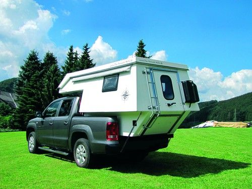 Living in a Box: Camping mit dem VW Amarok Auto