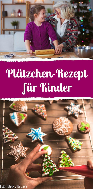 Zum Ausstechen: Weihnachtsplätzchen für Kinder