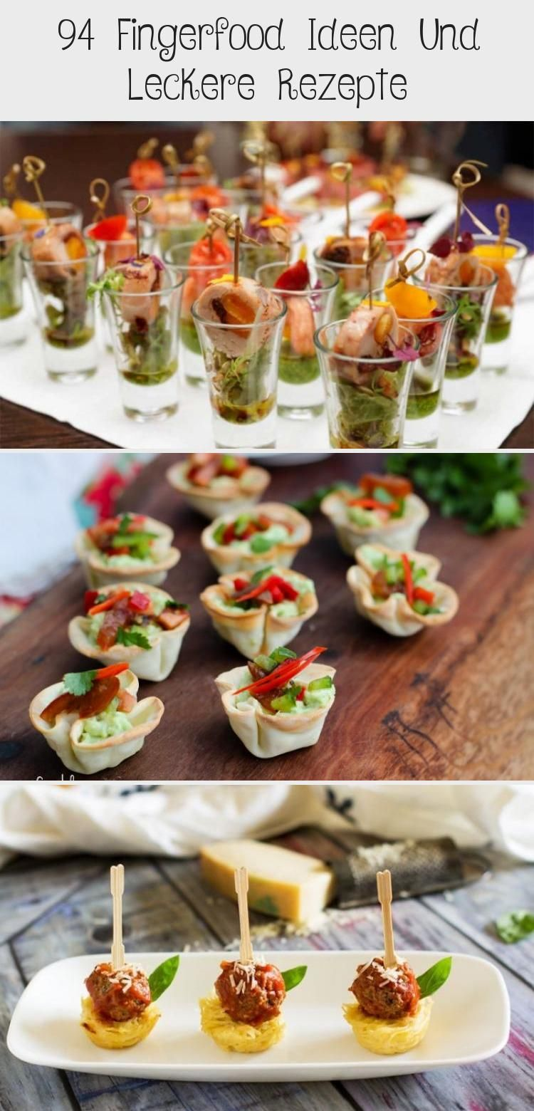 Photo of 94 finger food ideas and tasty recipes