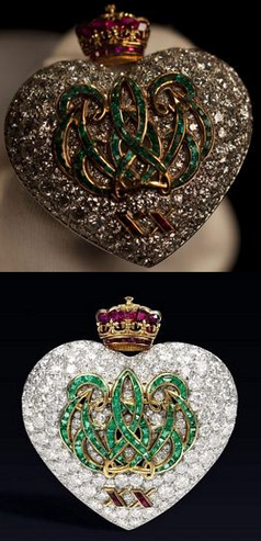 Diamond Heart -- The Duchess of Windsor Collection