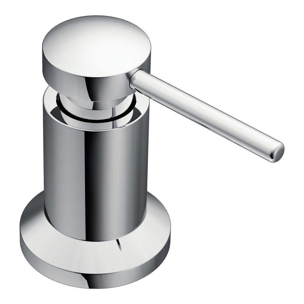 Moen 3942 Kitchen Soap And Lotion Dispenser Chrome Kitchen Soap Dispenser Soap Dispenser Kitchen Soap