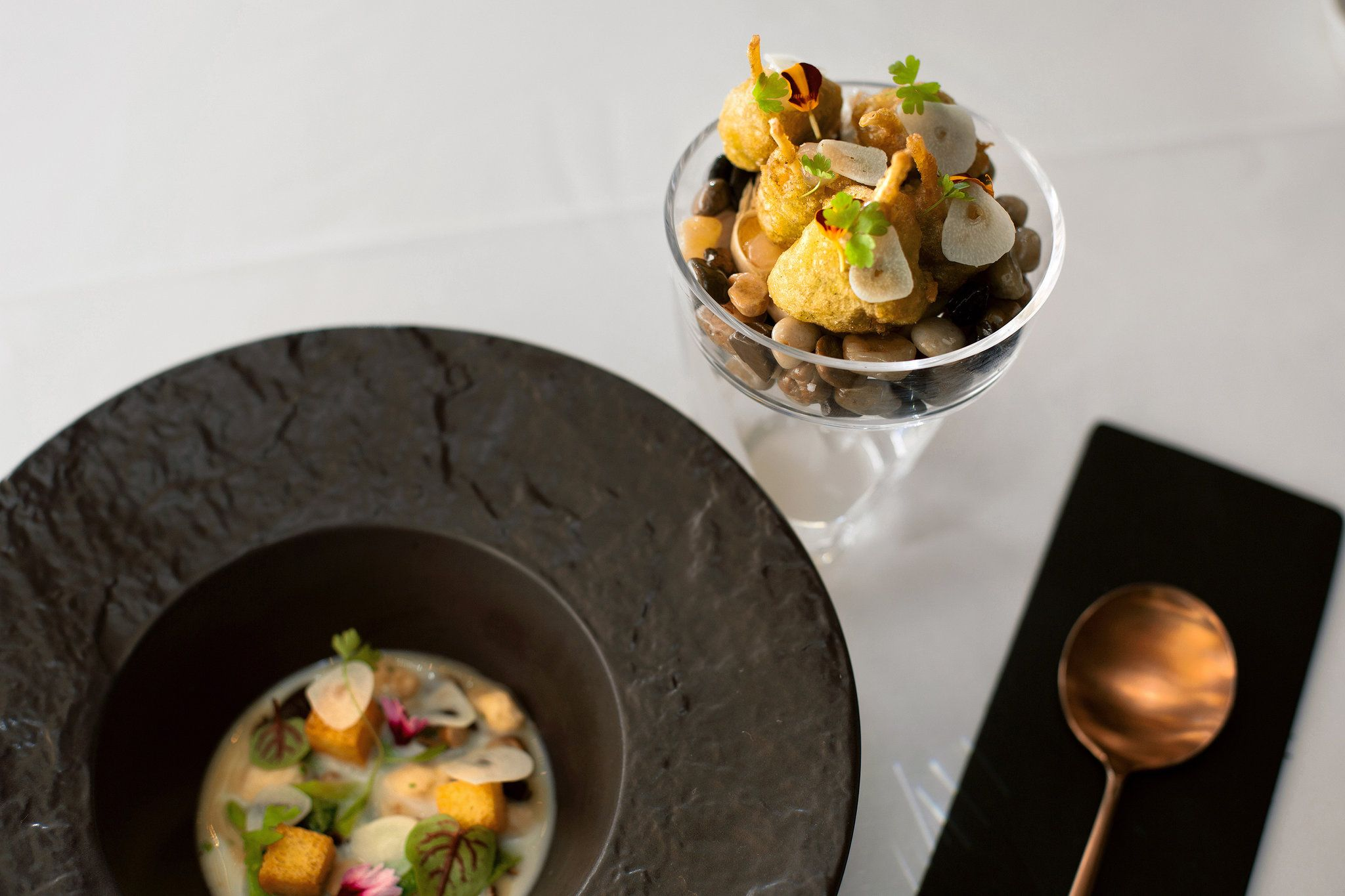 European Technique With A Purpose At The Chef S New Restaurant Near Bryant Park Served In