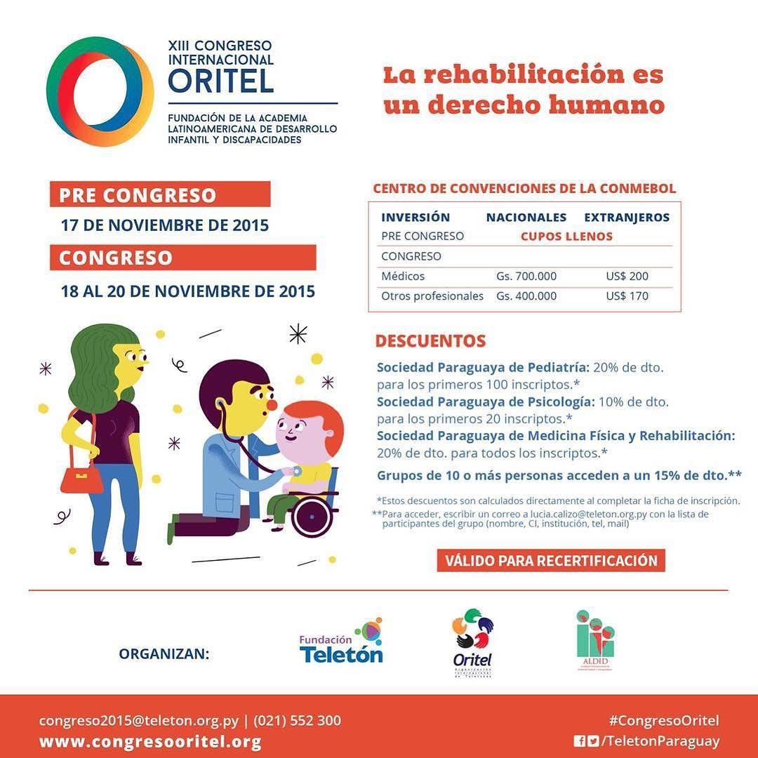 Teletón Paraguay On Instagram Sos Médico Trabajador Social Psicólogo Educador O Trabajas En El ámbito De La Inclusión Si Es Así Tenes Que Part Instagram