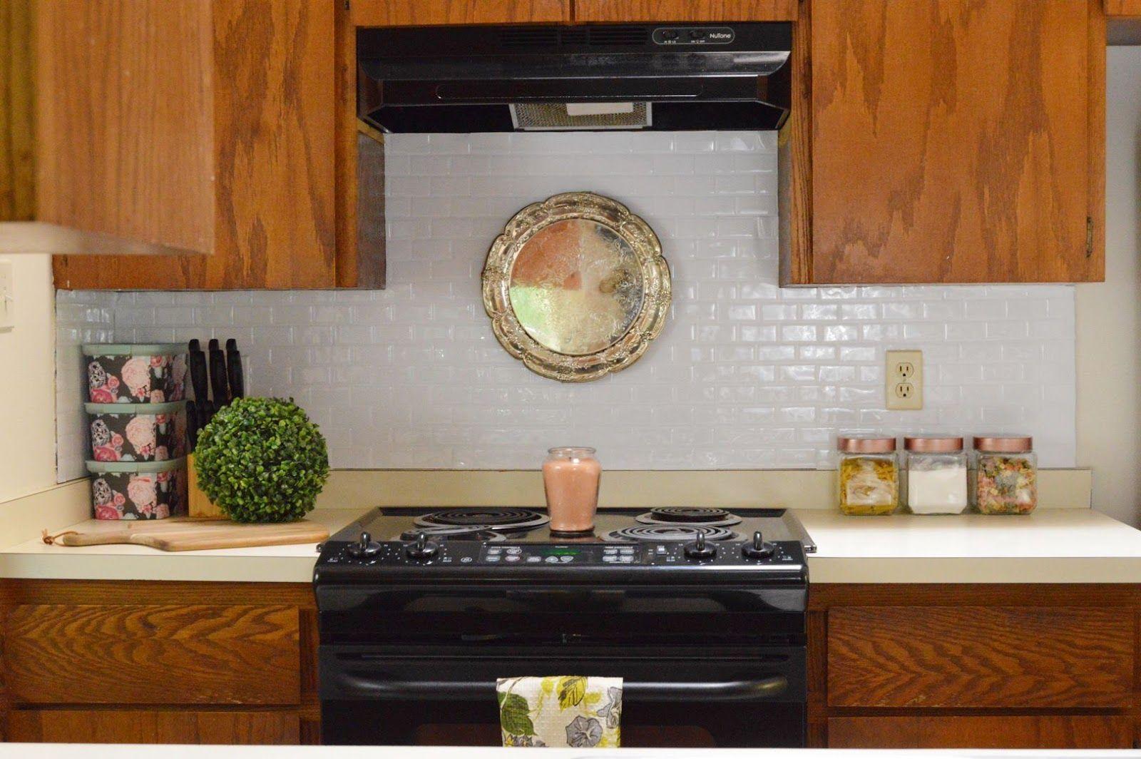 Mini Rental Kitchen Makeover Part 1 (with Smart Tiles)