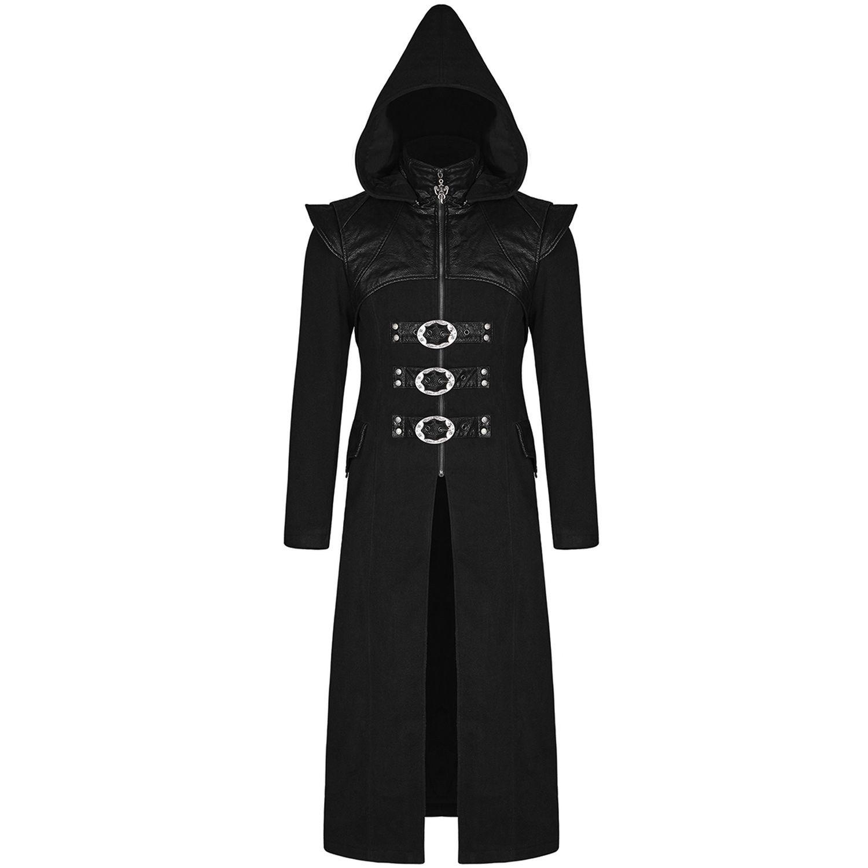 Manteau Noir 'Assassin's Creed' à Capuche by Punk Rave